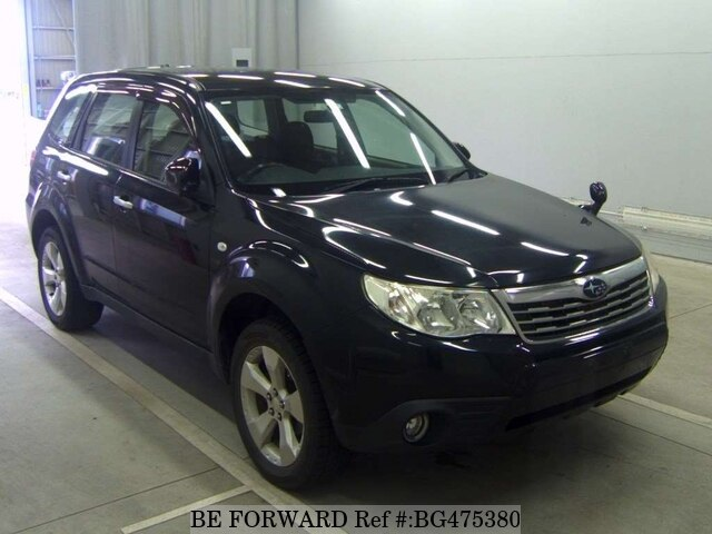 Used 2008 SUBARU FORESTER BG475380 for Sale