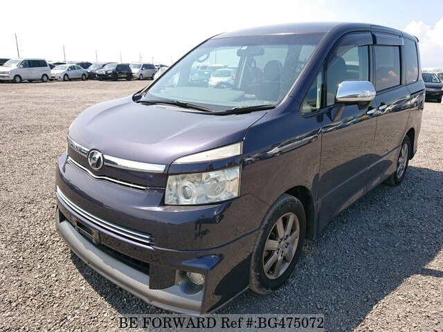 Used 2008 TOYOTA VOXY BG475072 for Sale