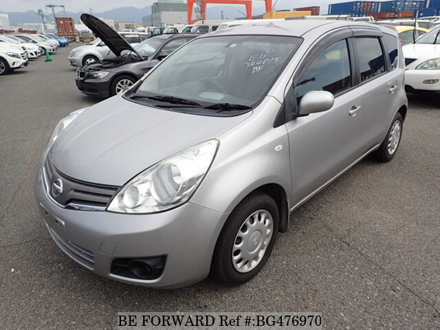 Used 2008 NISSAN NOTE BG476970 for Sale