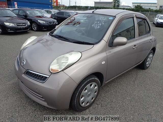Used 2008 NISSAN MARCH BG477899 for Sale