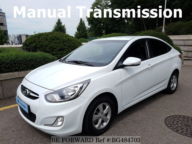 Used 2013 HYUNDAI ACCENT BG484703 for Sale
