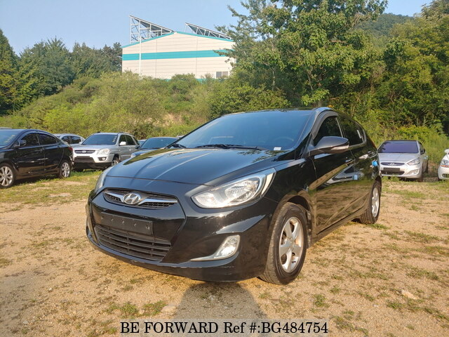 Used 2012 HYUNDAI ACCENT BG484754 for Sale