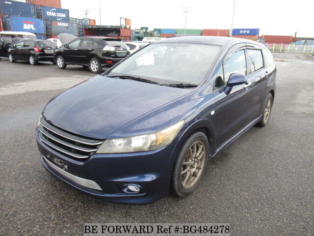 Used 2007 HONDA STREAM BG484278 for Sale