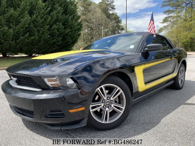 Used 2010 FORD MUSTANG BG486247 for Sale