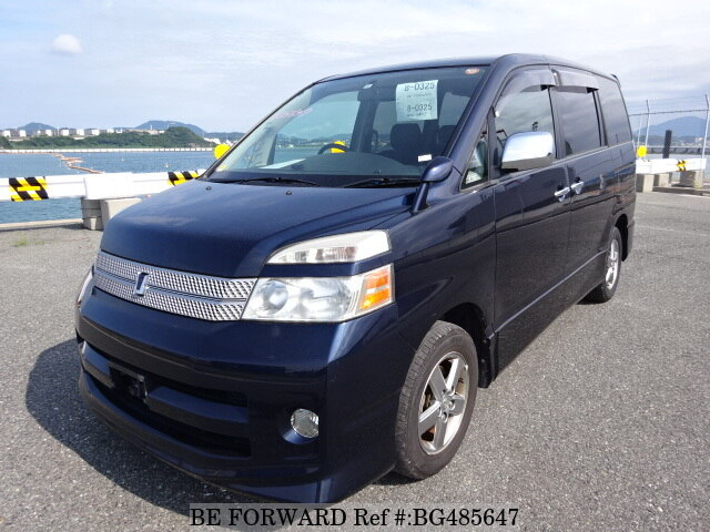 Used 2006 TOYOTA VOXY BG485647 for Sale
