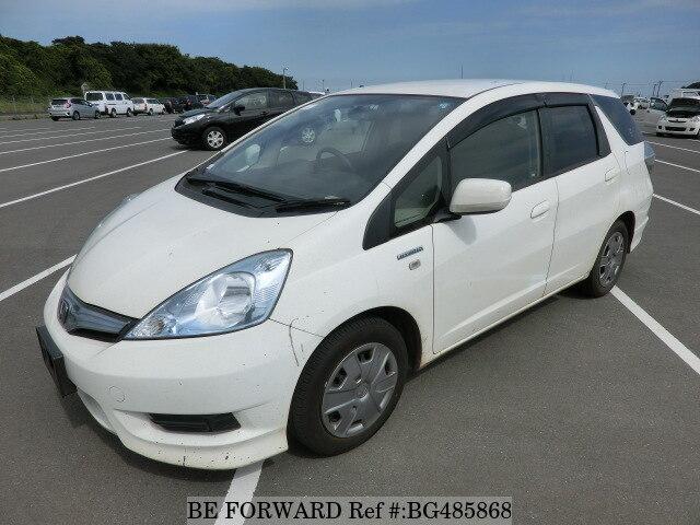 Used 2013 Honda Fit Shuttle Hybrid C Daa Gp2 For Sale Bg485868 Be Forward