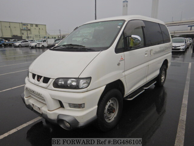 Used 2000 MITSUBISHI DELICA SPACEGEAR BG486105 for Sale