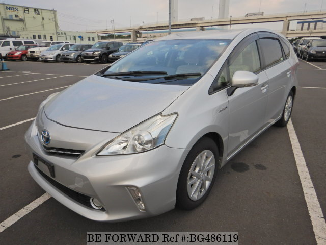 Used 2013 TOYOTA PRIUS ALPHA BG486119 for Sale