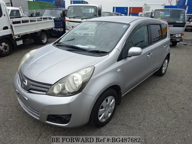 Used 2009 NISSAN NOTE BG487682 for Sale