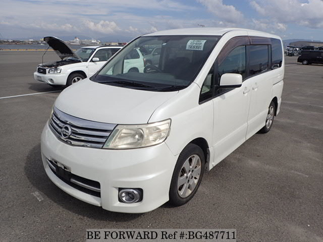 Used 2006 NISSAN SERENA BG487711 for Sale