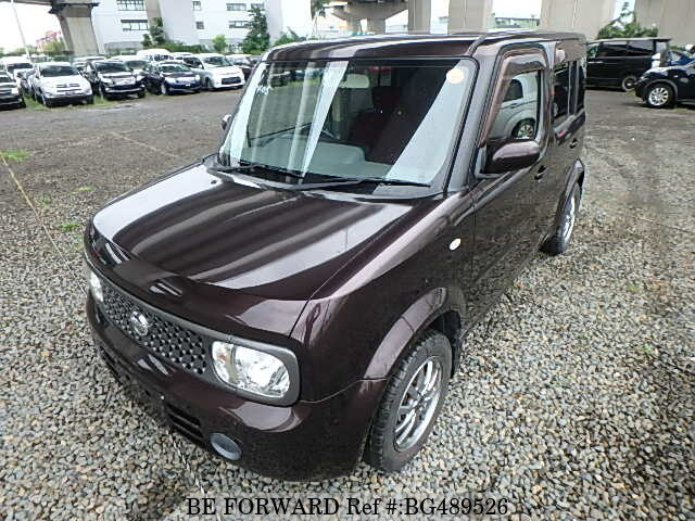 Used 2008 NISSAN CUBE BG489526 for Sale
