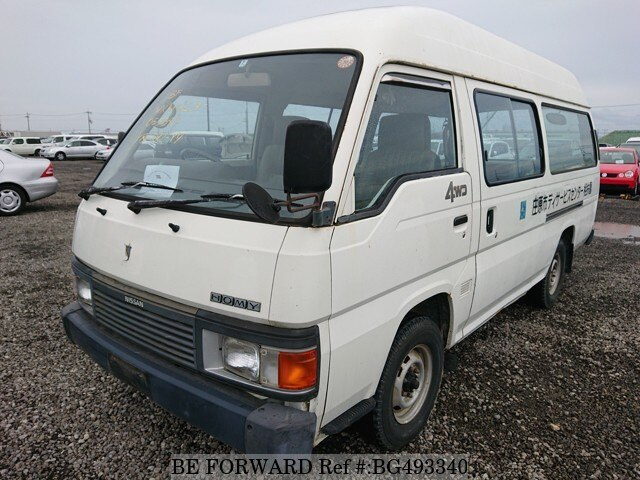 Used 1991 NISSAN HOMY VAN BG493340 for Sale