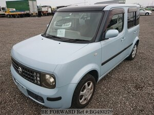 Used 2002 NISSAN CUBE BG493279 for Sale
