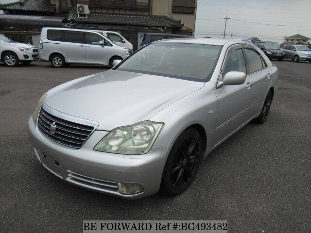 Used 2004 TOYOTA CROWN BG493482 for Sale