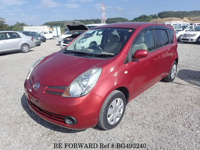 Used 2006 NISSAN NOTE BG493240 for Sale