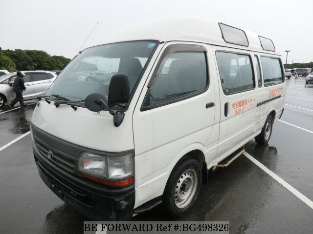 Used 2000 TOYOTA HIACE COMMUTER BG498326 for Sale