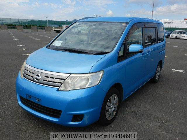 Used 2008 NISSAN SERENA BG498960 for Sale