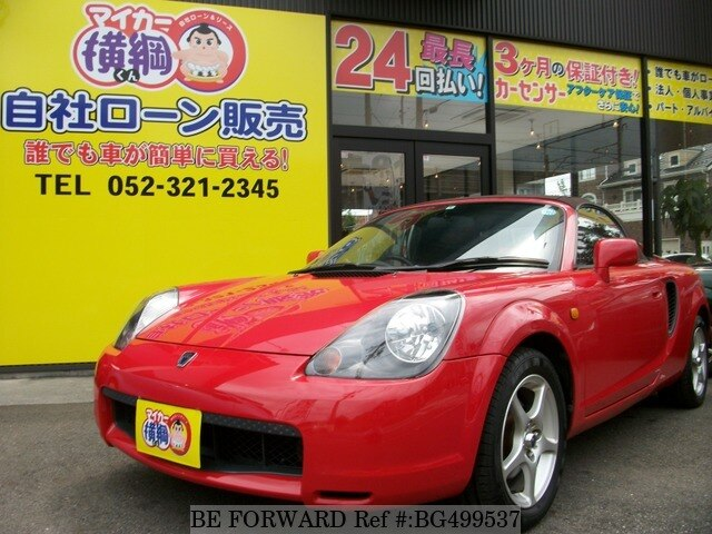 Used 2000 TOYOTA MR-S BG499537 for Sale