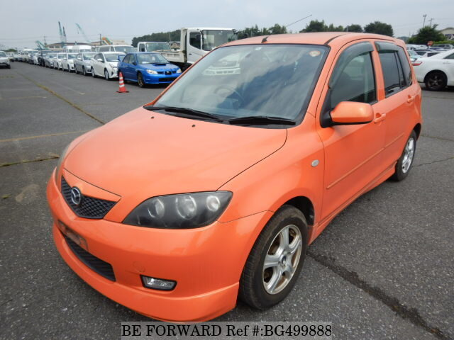Used 2004 MAZDA DEMIO BG499888 for Sale