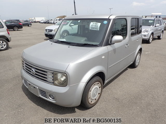 Used 2004 NISSAN CUBE BG500135 for Sale