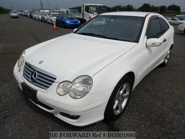 Used 2004 MERCEDES-BENZ C-CLASS BG501880 for Sale