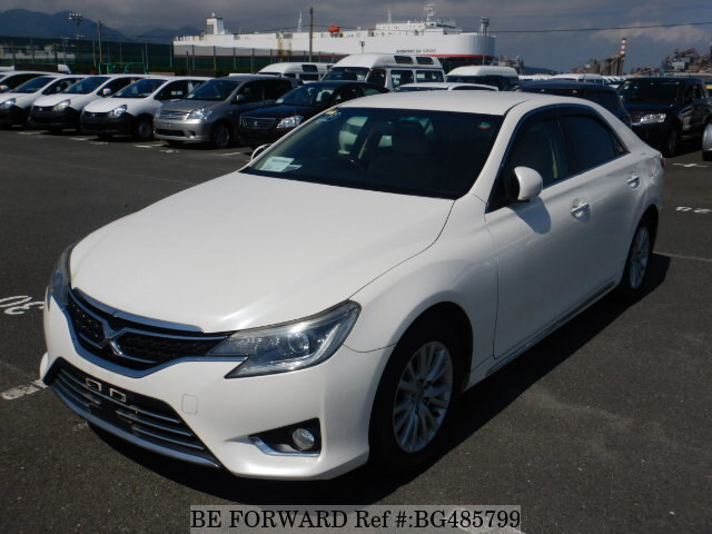 Used 2012 TOYOTA MARK X BG485799 for Sale