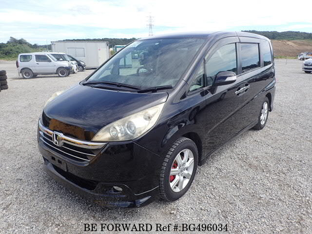 Used 2006 HONDA STEP WGN BG496034 for Sale