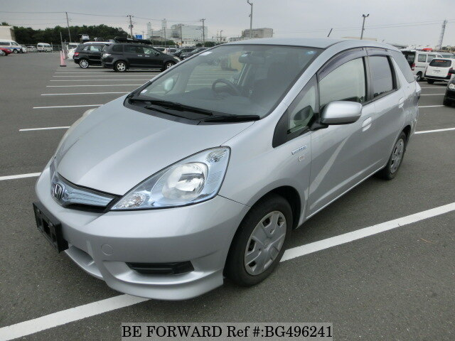 Used 2012 HONDA FIT SHUTTLE HYBRID BG496241 for Sale