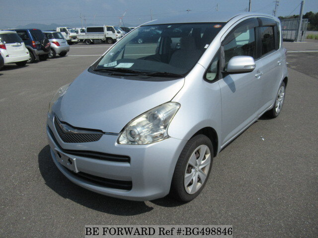 Used 2008 TOYOTA RACTIS BG498846 for Sale