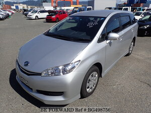 Used 2016 TOYOTA WISH BG498756 for Sale