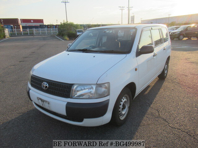 Used 2003 TOYOTA PROBOX VAN BG499987 for Sale