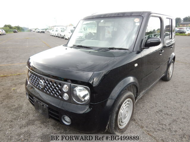 Used 2006 NISSAN CUBE BG499889 for Sale