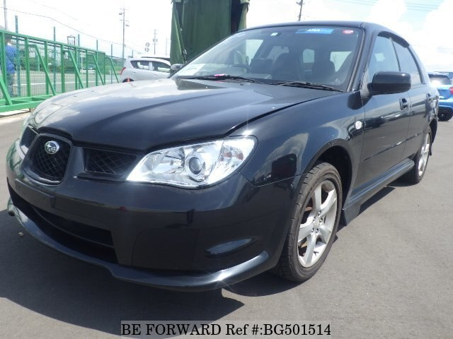 Used 2007 SUBARU IMPREZA SPORTSWAGON BG501514 for Sale