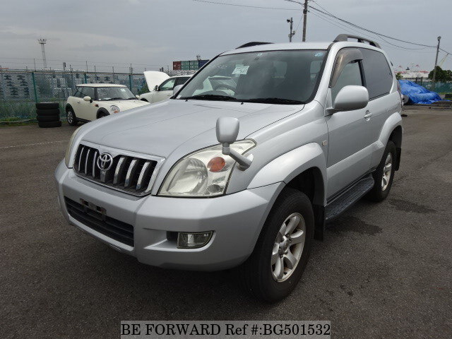 Used 2008 TOYOTA LAND CRUISER PRADO BG501532 for Sale