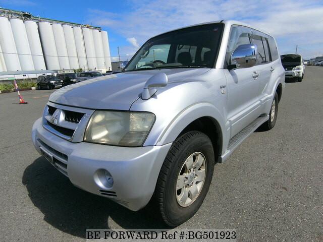 Used 2003 MITSUBISHI PAJERO BG501923 for Sale