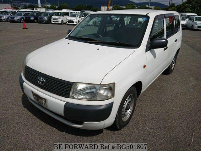 Used 2007 TOYOTA PROBOX VAN BG501807 for Sale