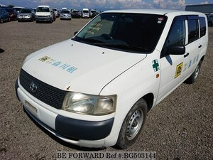 Used 2004 TOYOTA PROBOX VAN BG503144 for Sale