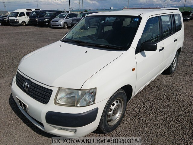 Used 2002 TOYOTA SUCCEED VAN BG503154 for Sale