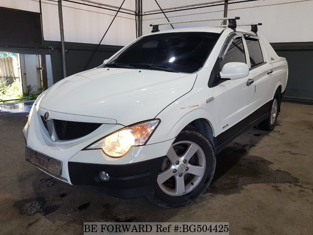 Used 2008 SSANGYONG ACTYON BG504425 for Sale