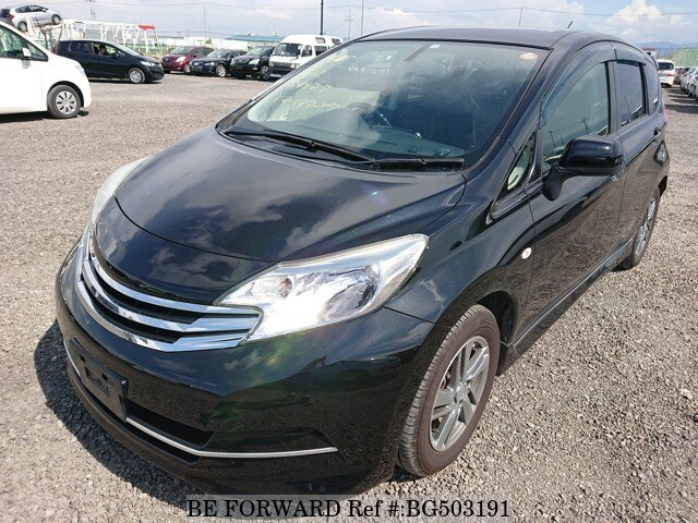 Used 2012 NISSAN NOTE BG503191 for Sale