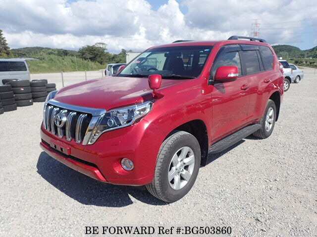 Used 2016 TOYOTA LAND CRUISER PRADO BG503860 for Sale