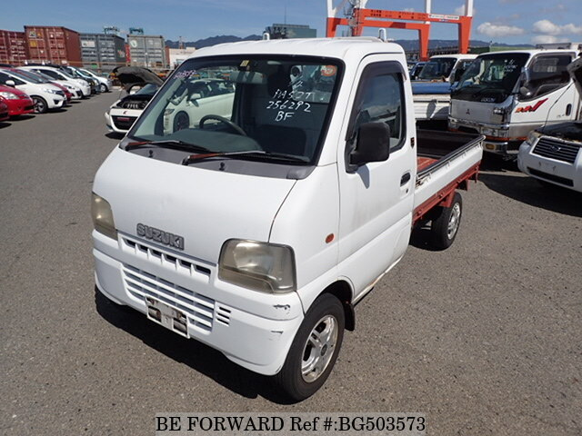 Used 2001 SUZUKI CARRY TRUCK BG503573 for Sale