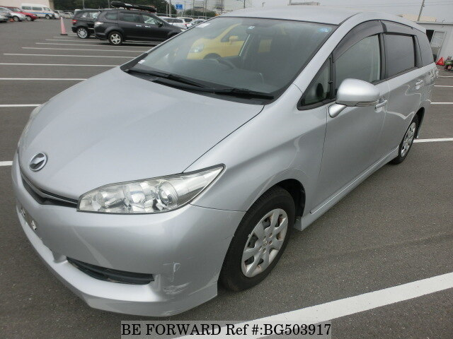 Used 2015 TOYOTA WISH BG503917 for Sale