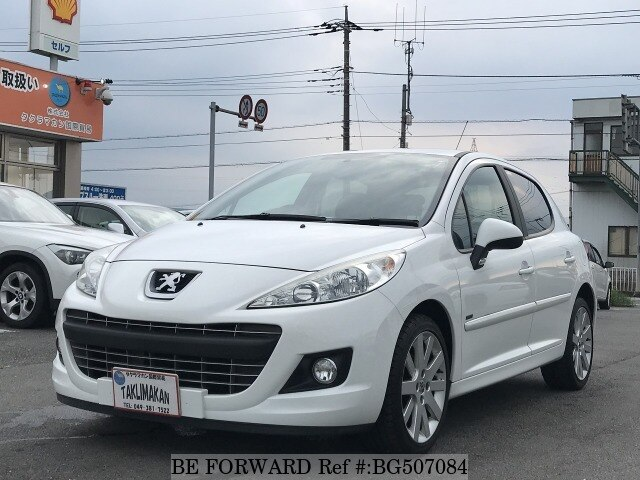 Used 2012 PEUGEOT 207 BG507084 for Sale