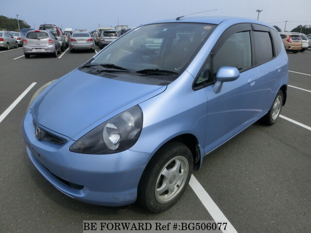 Used 2002 HONDA FIT BG506077 for Sale