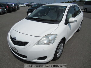 Used 2011 TOYOTA BELTA BG505928 for Sale