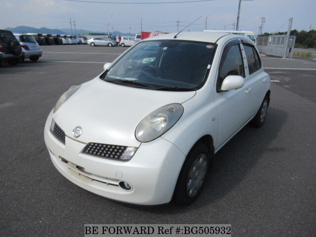 Used 2006 NISSAN MARCH BG505932 for Sale