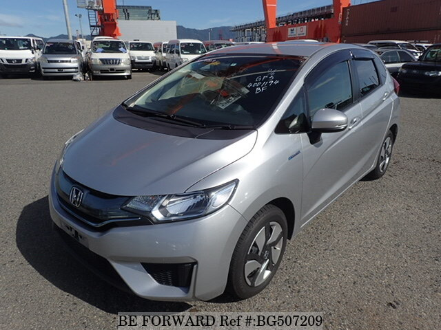 Used 2014 HONDA FIT HYBRID BG507209 for Sale