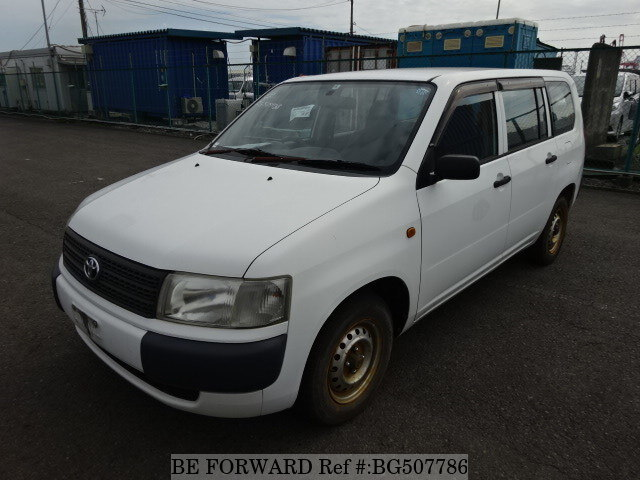 Used 2005 TOYOTA PROBOX VAN BG507786 for Sale