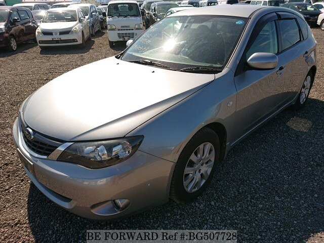 Used 2007 SUBARU IMPREZA BG507728 for Sale
